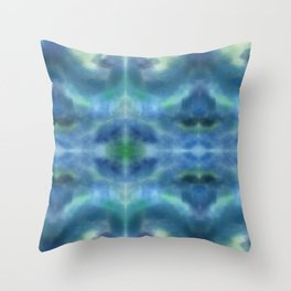 ocean eyes Throw Pillow