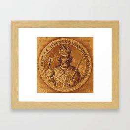 Carolus Magnus - Charlemagne Framed Art Print