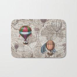 Hot Air Balloons Bath Mat