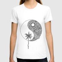 yin yang T-shirts featuring Yin Yang by KA Doodle