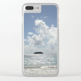 La Tortue from St Barths Clear iPhone Case