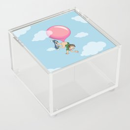 Don't Swallow Your Bubble Gum Acrylic Box