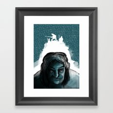 The Iceman Cometh Framed Art Print