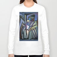wings Long Sleeve T-shirts featuring WINGS by Deyana Deco