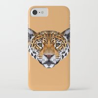 jaguar iPhone & iPod Cases featuring Jaguar by peachandguava