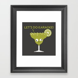 Marge in Charge Framed Art Print