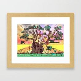 Drink the Wild Air by Rosemary Knowles, aka MaxillaMellifer Framed Art Print