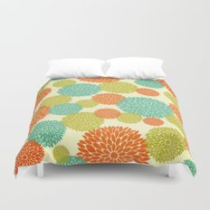 Flowers In May Duvet Cover