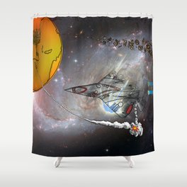 Stealth Bomber Shower Curtain