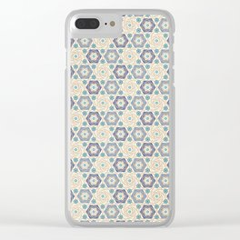Hilda pattern Clear iPhone Case