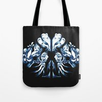 crown Tote Bags featuring Crown by András Récze