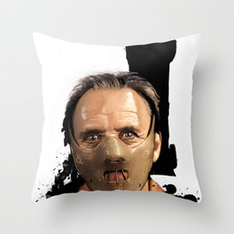 Hannibal Lecter: Monster Madness Series Throw Pillow