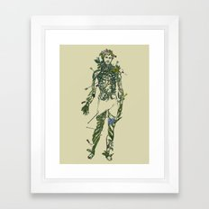 Wound Man Framed Art Print
