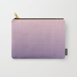 Gradient Millennial Pink Ultra Violet Pattern | Trendy color of the year 2018 Carry-All Pouch