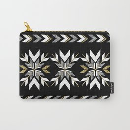 The Remix - Art Deco Fair Isle Carry-All Pouch