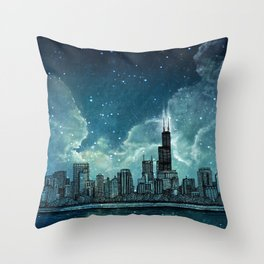 From the Breakers Throw Pillow