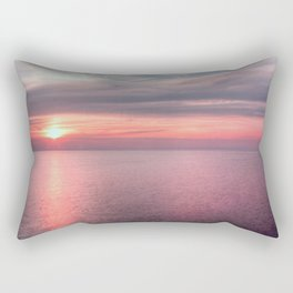 Norfolk summer sunset Rectangular Pillow