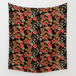 Autumn squirrel Wall Tapestry