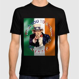 Irish American Uncle Sam Celebration Shindig T-shirt
