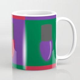 Christmas Light Pattern Coffee Mug