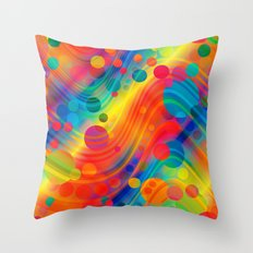 datastream 71 Throw Pillow