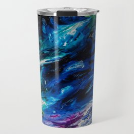 Electric Blues Travel Mug