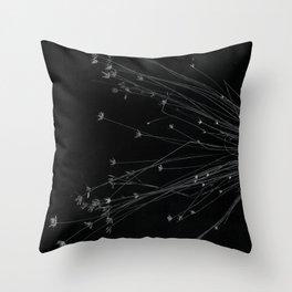 Tilting shadows of the timeless Throw Pillow