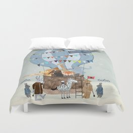 little adventure days Duvet Cover