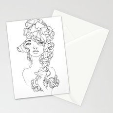 Girl#2 Stationery Cards