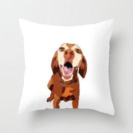 Beautiful Vizsla Throw Pillow