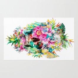 Tropical Skull Rug