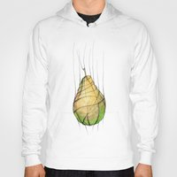 pear Hoodies featuring Pear by Natalia Winiarz