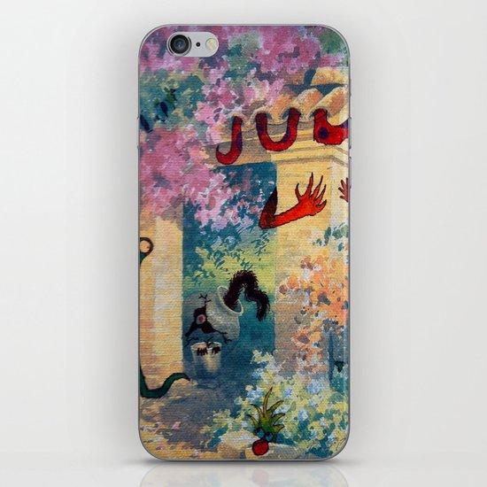 EL PORTON DE LOS COLORES iPhone & iPod Skin
