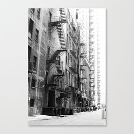 Chicago Street Scenes 1: Escape to Randolph Street Canvas Print