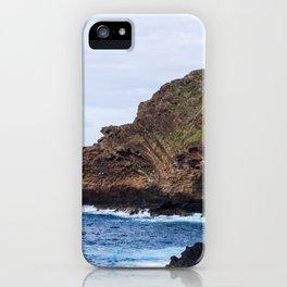 Porto Moniz, Madeira island, Portugal. iPhone Case