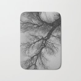 Lungs of the Earth | Nature Photography | Weeping Willow | Black and White | black-and-white | bw Bath Mat