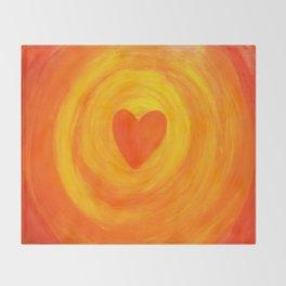 I  Embrace MY LOVE Throw Blanket