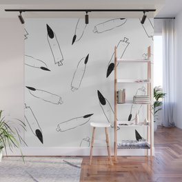 Severed Fingers - Sketch Wall Mural