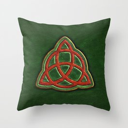Book of Shadows Cover Throw Pillow