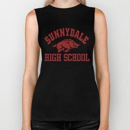 Sunnydale High Razorbacks Biker Tank