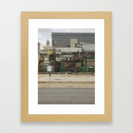 Wish you were here... Framed Art Print