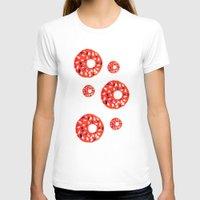 doughnut T-shirts featuring Doughnut by Myles Hunt