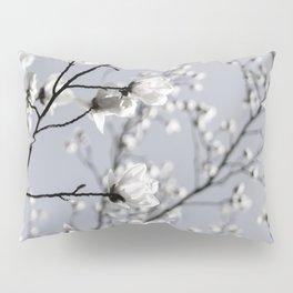 White Blossoms 2 Pillow Sham