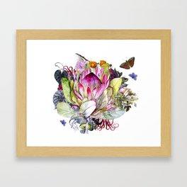 Magic Garden I Framed Art Print
