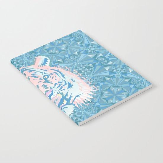 Pastel Quartz Tiger Notebook