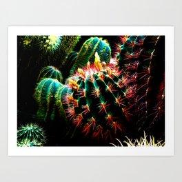 cactus fantasy Art Print