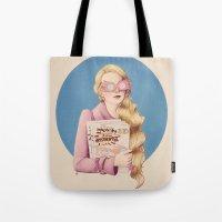luna lovegood Tote Bags featuring Luna II by Inflomora