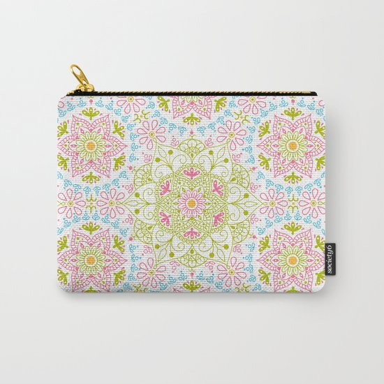 Mandala_Spring Carry-All Pouch