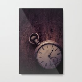 Stopping Time Metal Print