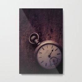 Stopping Time Metal Print